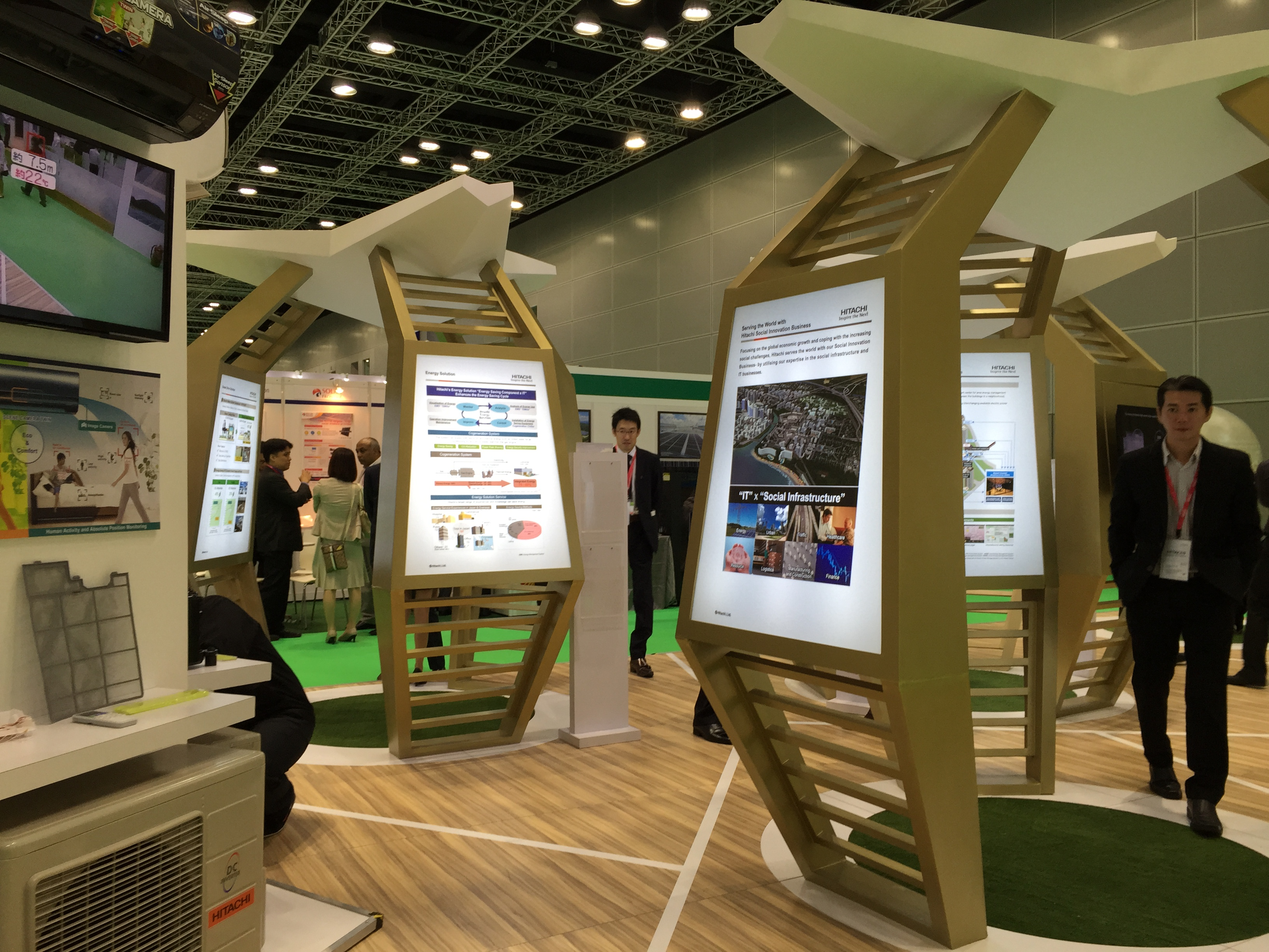 Exhibition Stand Eco : Igem international greentech eco products
