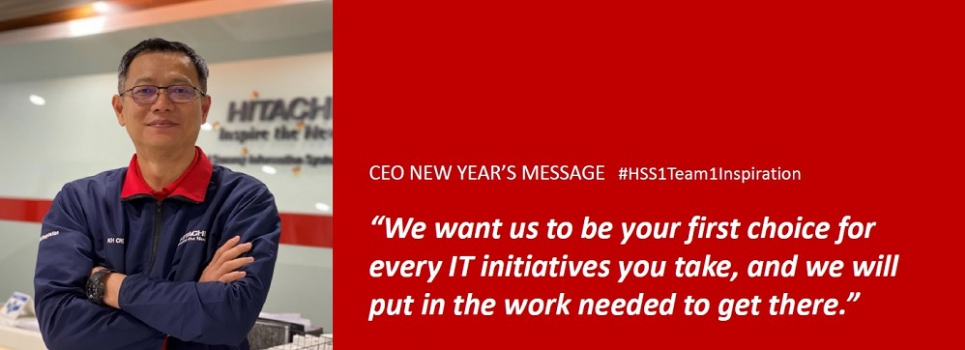 CEO New Year's Message